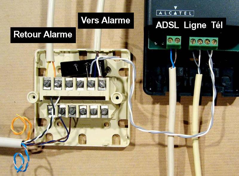 Filtre maitre adsl pour alarme - Mettre une alarme ...
